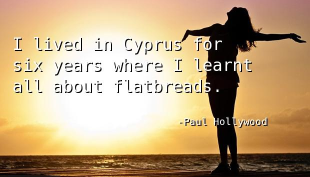 I lived in Cyprus for six years where I learnt all about flatbreads.