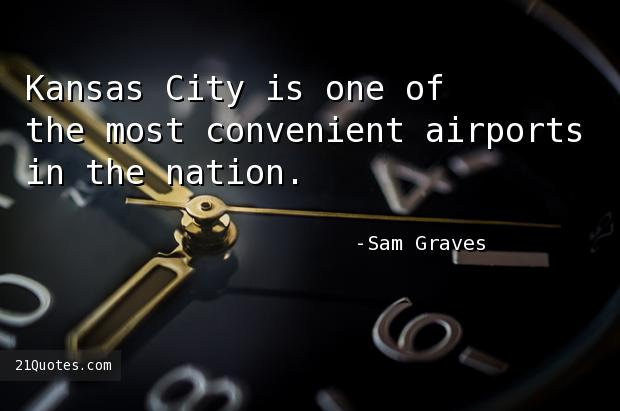 Kansas City is one of the most convenient airports in the nation.
