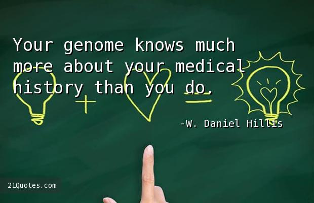 Your genome knows much more about your medical history than you do.